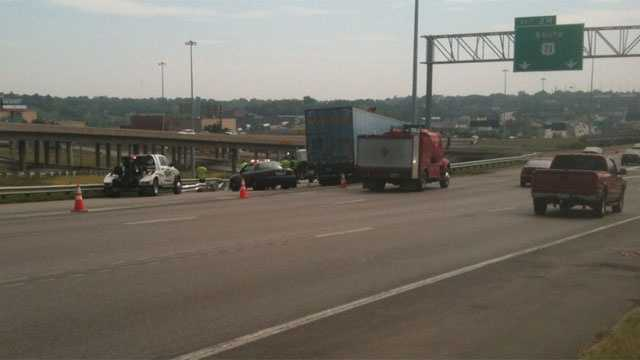 Image I-70, US 71 crash