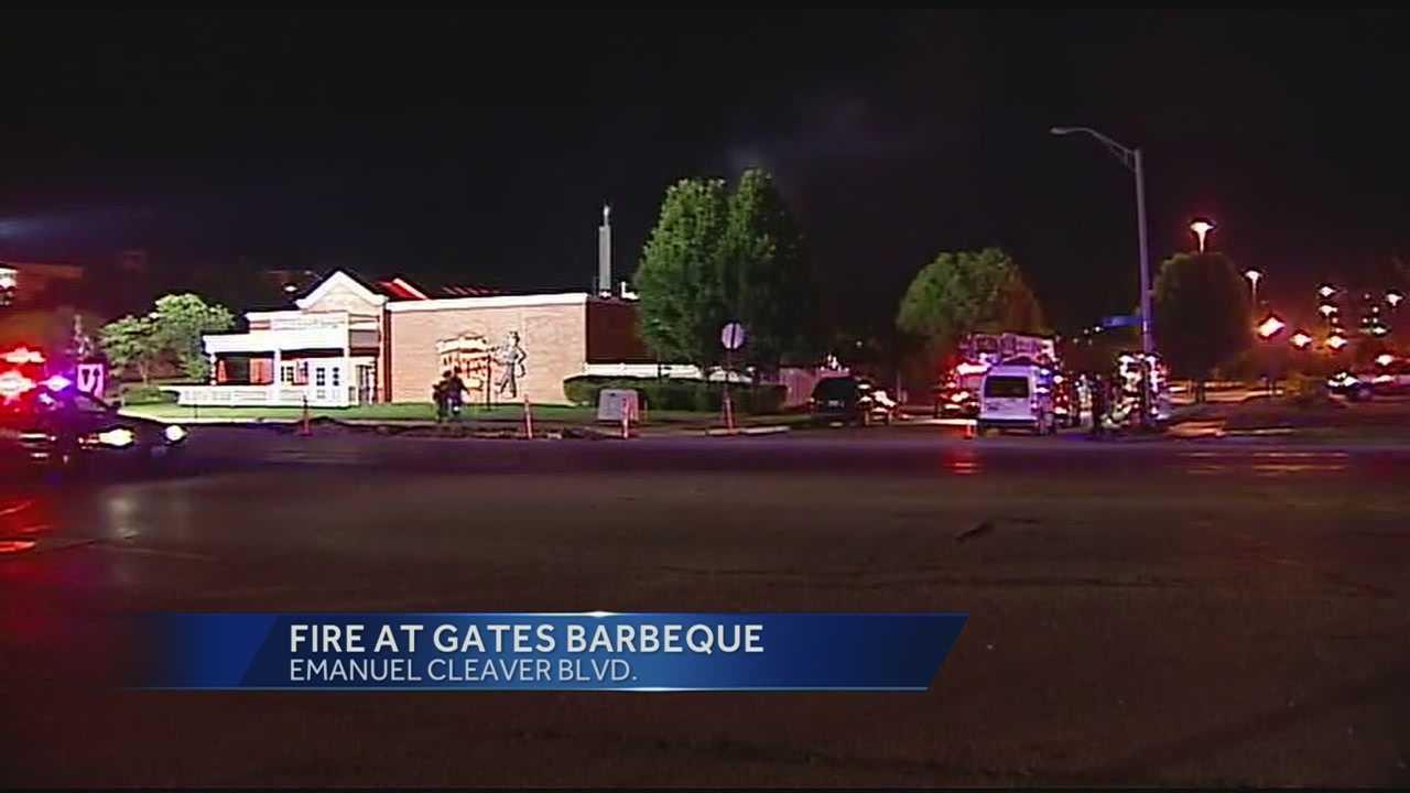 Gates barbecue fire call