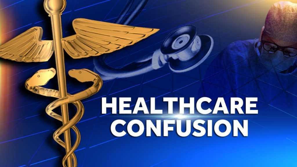 Image Health care confusion graphic