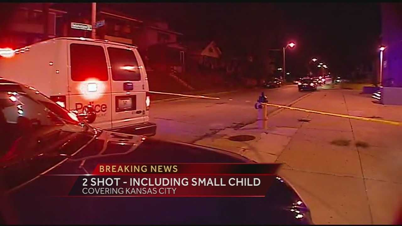 Kansas City police are investigating a shooting that has left a 1-year-old child and a 21-year-old with very serious injuries.