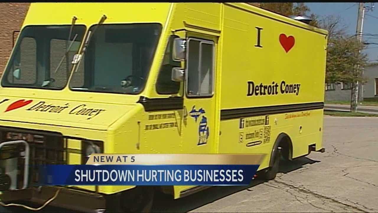 A local food truck made big plans to operate outside Kansas City's Bolling Federal Building on Friday -- until the shutdown left them without anyone in the building to serve food for.