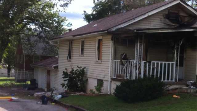 Image KCK fatal house fire scene