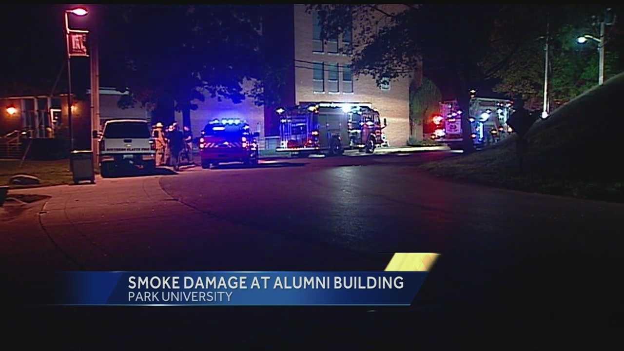 Park University alumni building fire
