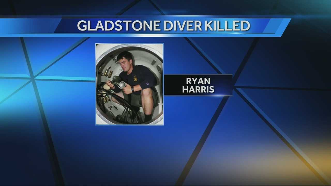 Image Ryan Harris navy diver killed