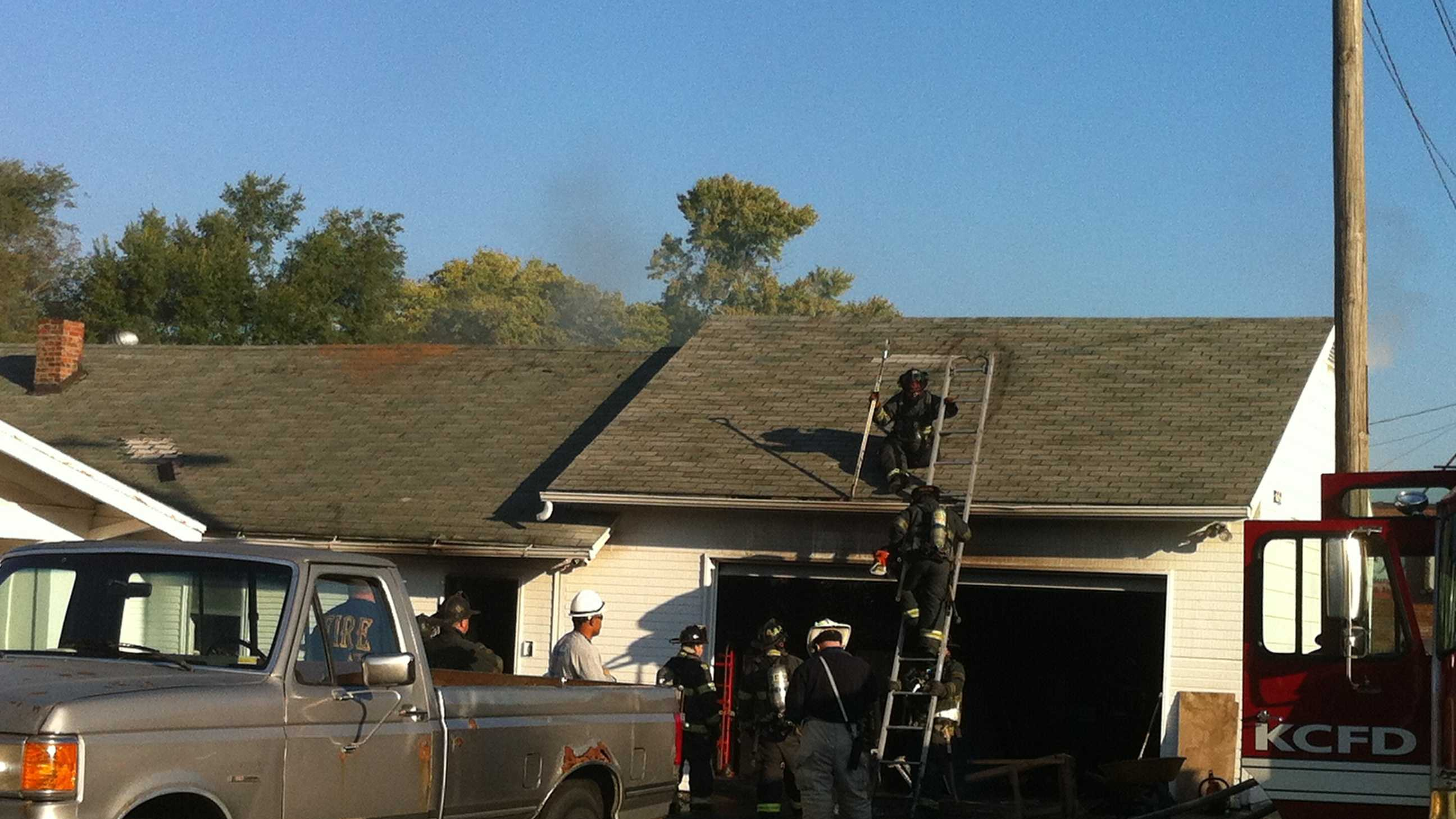81st, Paseo building fire