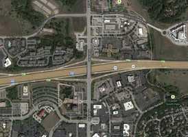 4) I-435 and Roe: 38 crashes