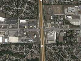 5) 151st and 69 Highway: 32 crashes