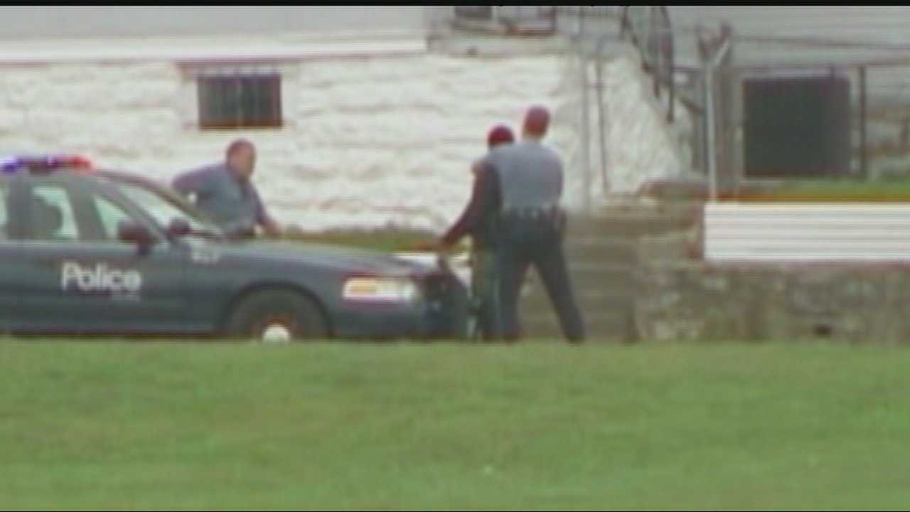 A report of someone with a gun near Central Academy and an unrelated fight kept police busy outside the Kansas City school Wednesday afternoon.