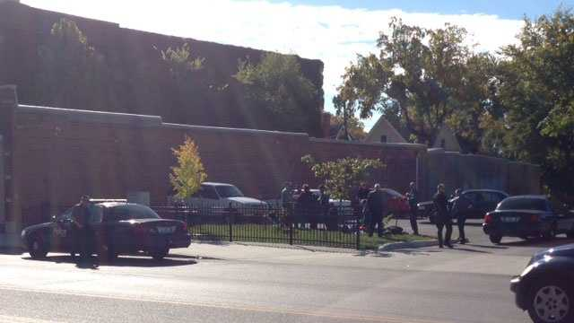 Large fight at 39th and Troost