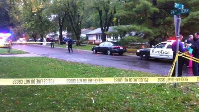 Raytown Shooting scene