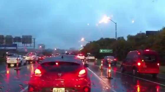 I-35 traffic backup