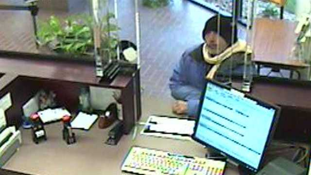 Image Attempted bank robbery