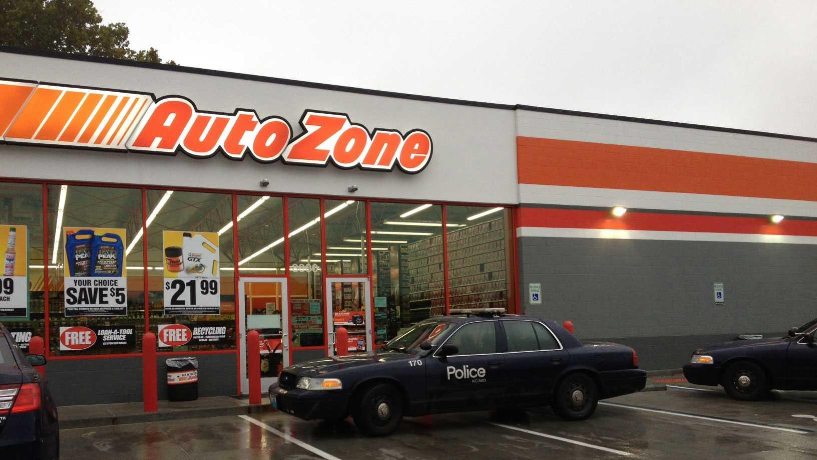 Waldo Autozone robbery