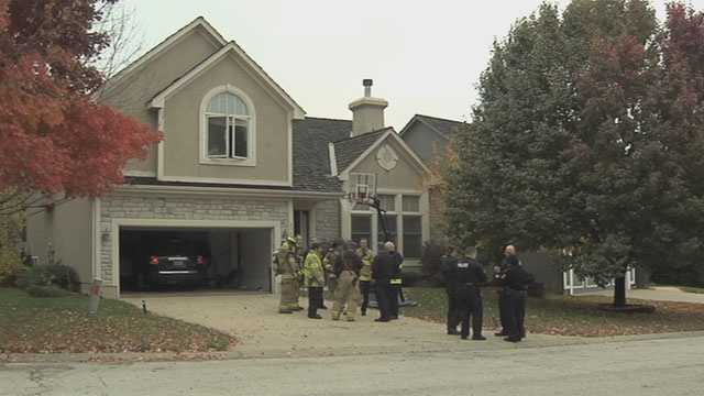 Overland Park firefighters were called to a home in the 8000 block of West 121st Terrace at 7:30 a.m.