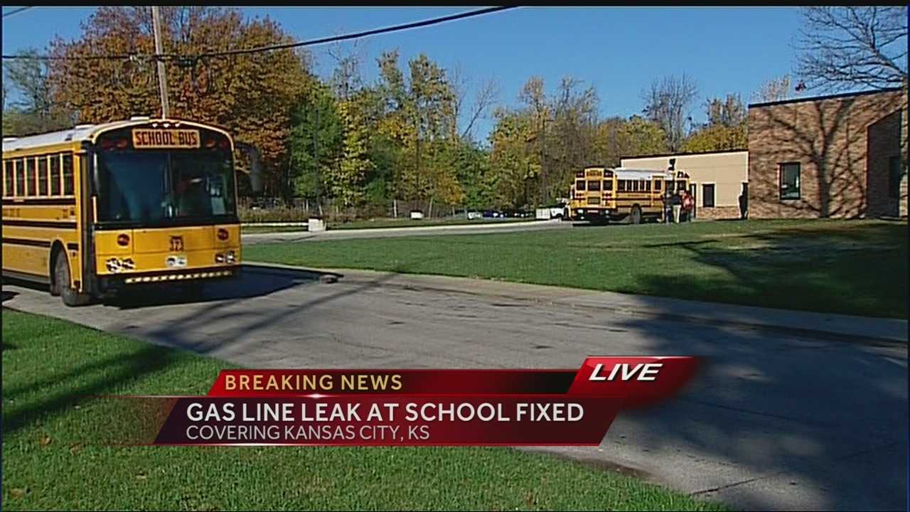 Francis Willard Elementary School, gas leak