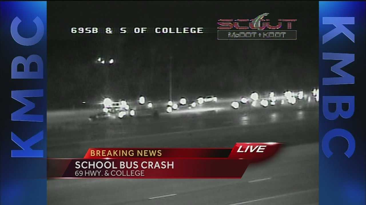 School bus involved in accident on 69 Highway