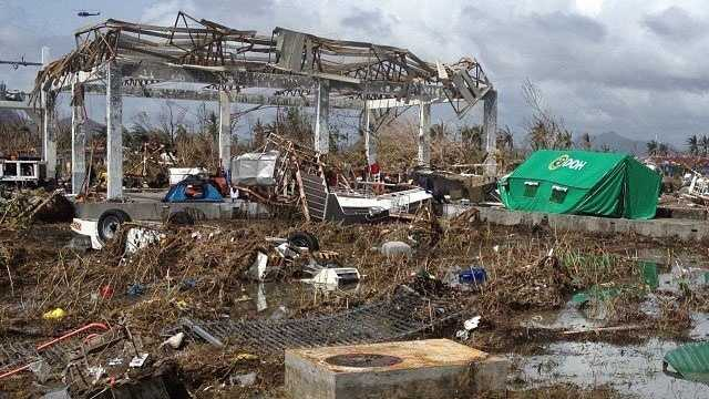 Haiyan building damage, Tacloban