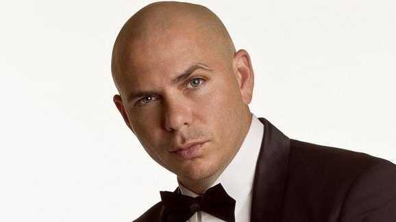 Image Pitbull hosts AMAs