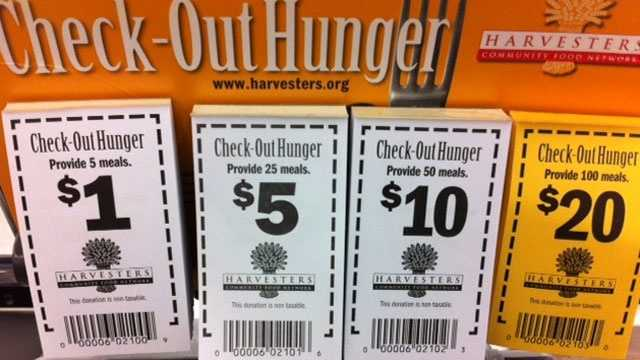 Image Harvesters check out hunger coupons