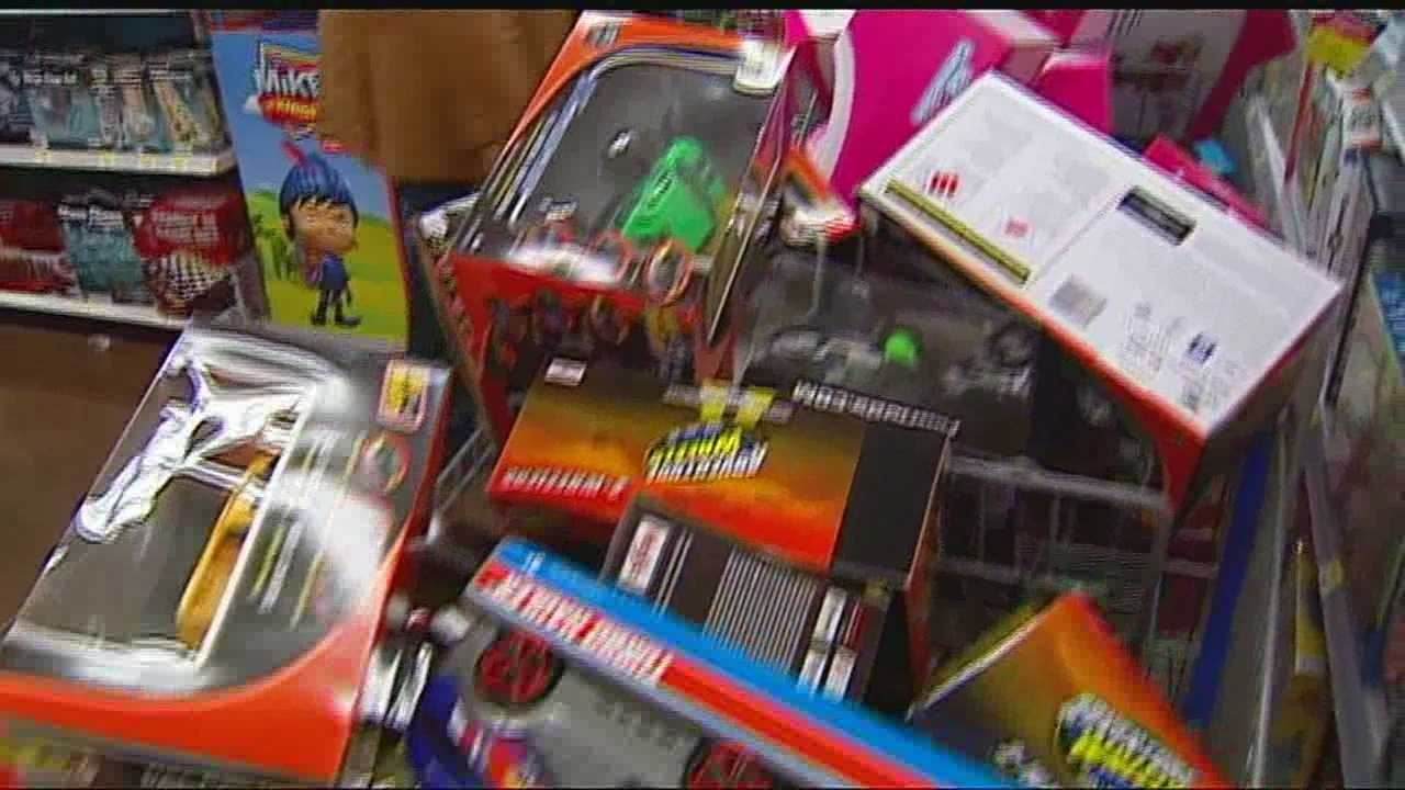 An early shopping spree helped load up on gifts for the annual Santa's Wonderland event, which helps boys and girls in need start off the holiday season with a present.