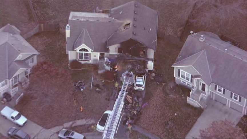 Olathe house fire, 126th Terrace