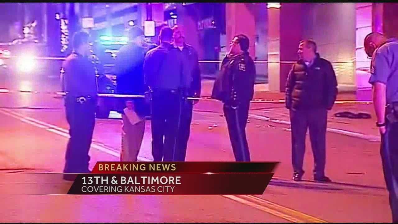 Image Downtown KC police-involved shooting
