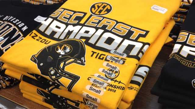 Image Mizzou SEC title shirts