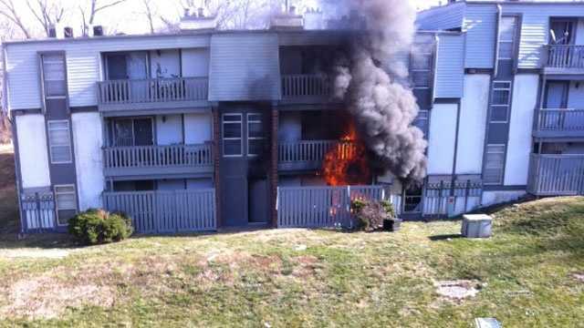Image apartment Fire Trisha Marrone picture
