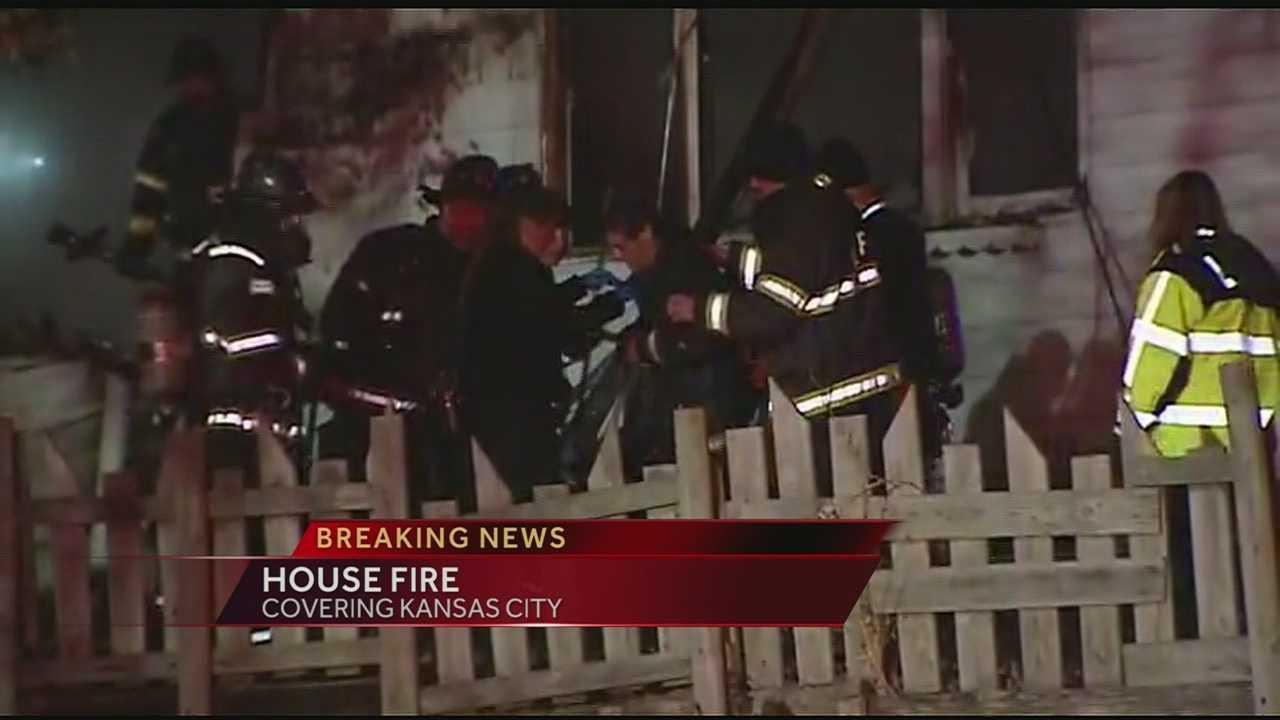 KC firefighter hurt