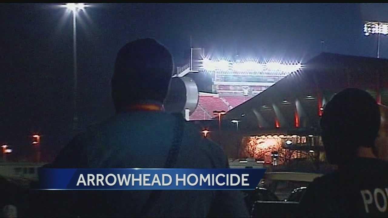 Image Arrowhead homicide scene