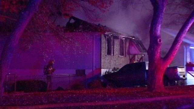 Blue Springs house fire