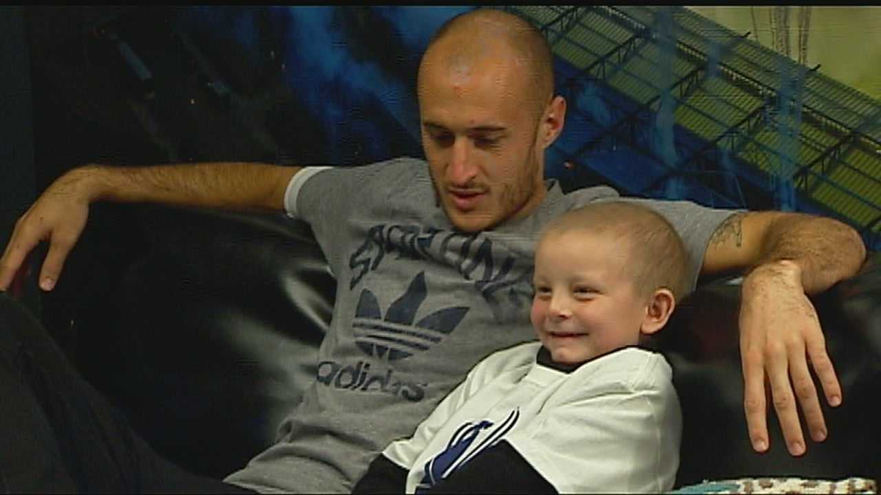 Sporting KC players like Aurelien Collin make time for a worthy cause, just days ahead of MLS Cup.