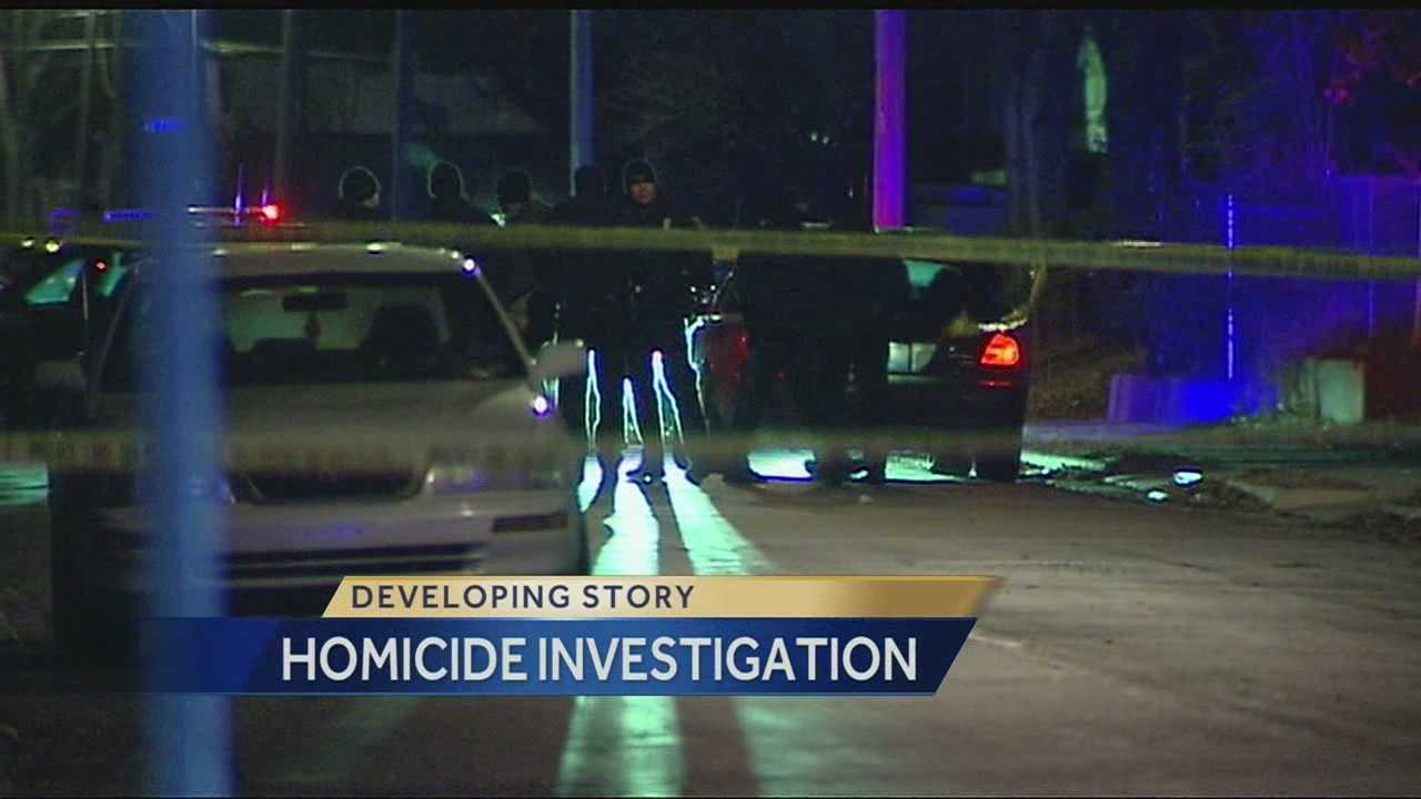 A man was found dead inside a home at 26th and Quincy on Friday night, and police said it appears he was shot to death.
