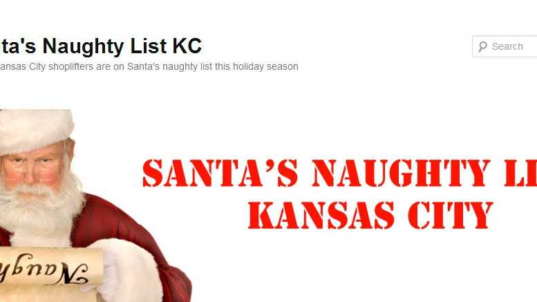 Santa's naughty list KC police