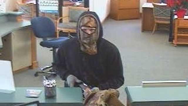 Image Shawnee bank robbery - surveillance