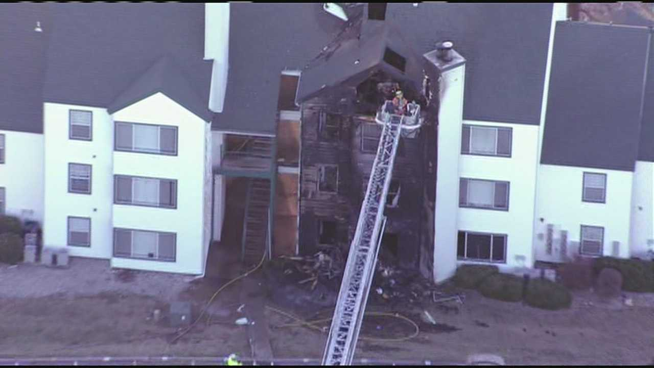 Independence apartment fire
