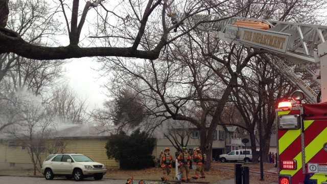 Lenexa house fire