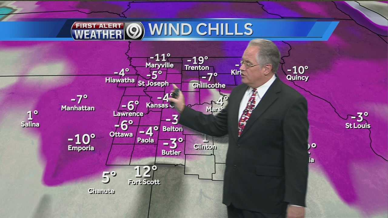KMBC's Joel Nichols tells us how warm we might get on Christmas Eve, and also gives you your Christmas day forecast.