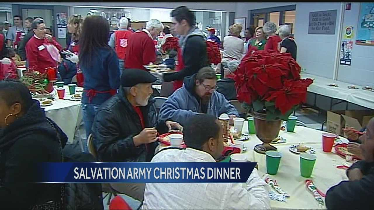Volunteers expect to serve 1,500 Christmas dinner