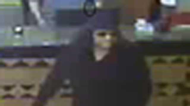 Crescenet Hotel robbery surveillance pic