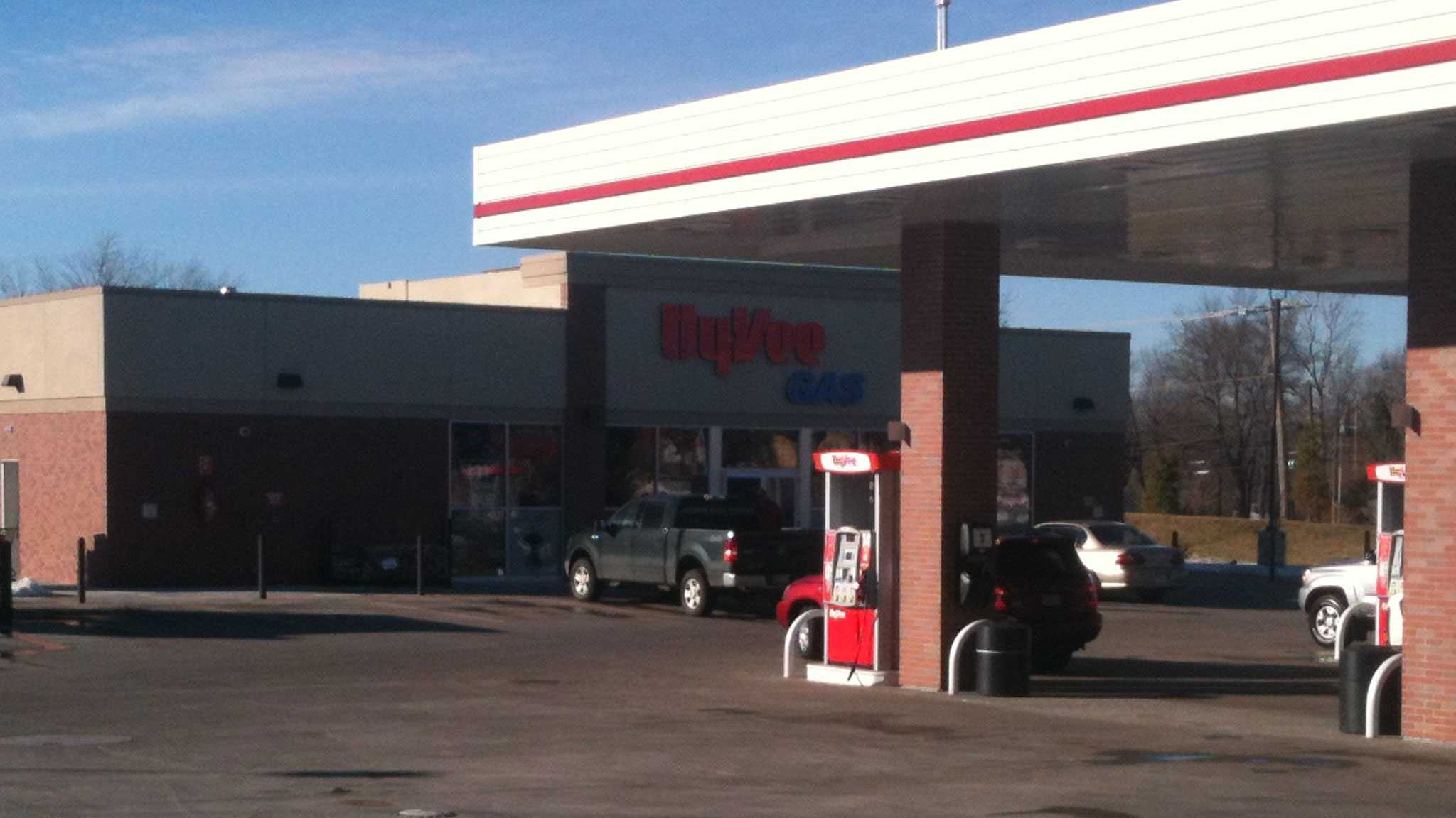 HyVee attempted ATM theft