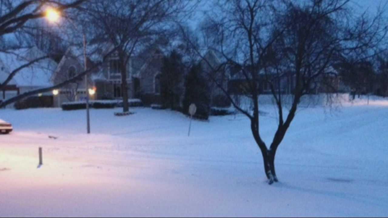 Image Cold snowscape