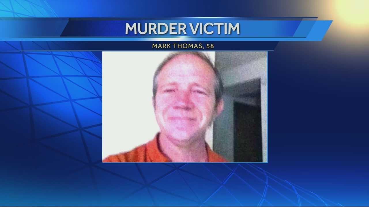 Image Mark Thomas - graphic - murder victim