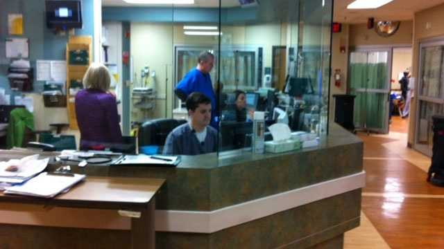 Image Hospitals deal with flu outbreak