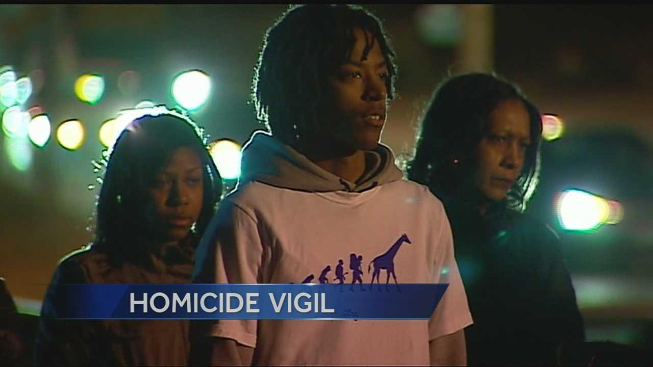 Image Homicide vigil