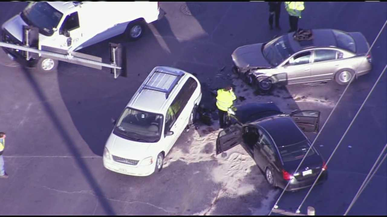 Chase ends at Independence and Bennington