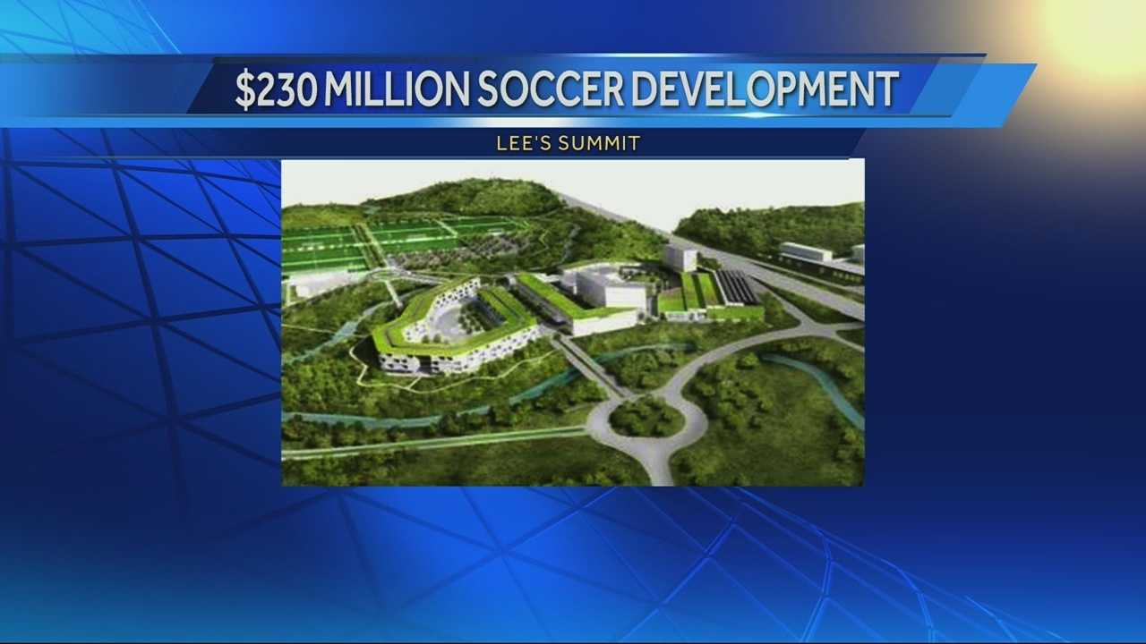 Developers are discussing plans for a 15-field soccer complex in Lee's Summit, with restaurants, hotels, shopping and entertainment options to support it.