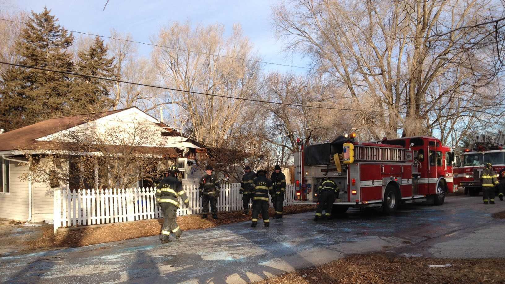 House fire Northwest 83rd Street