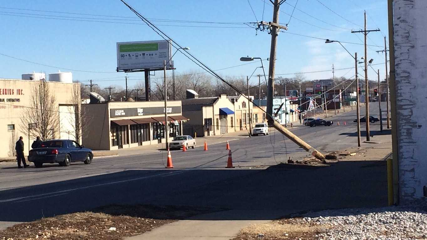 Truman and Cleveland, power pole hit