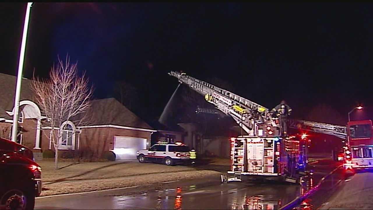 House fire North Oregon Avenue